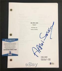 AARON SORKIN autograph signed THE WEST WING Pilot Episode Script BAS COA Beckett