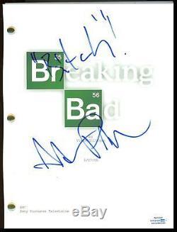 Aaron Paul Breaking Bad AUTOGRAPH Signed Full Pilot Episode Script ACOA