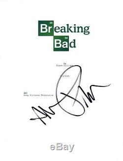 Aaron Paul Signed Autographed BREAKING BAD Pilot Episode Script COA