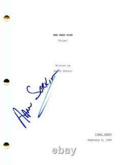 Aaron Sorkin Signed Autograph The West Wing Full Pilot Script The Newsroom