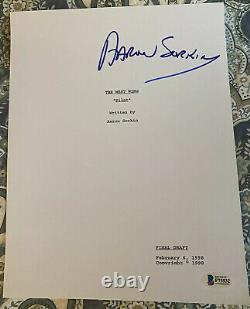 Aaron Sorkin signed autographed West Wing Pilot Script