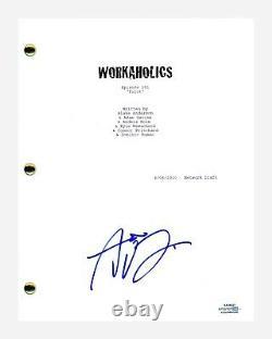 Adam Devine Signed Autographed Workaholics Pilot Episode Script ACOA COA