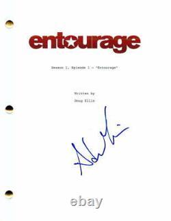 Adrian Grenier Signed Autograph Entourage Full Pilot Script Vincent Chase Stud