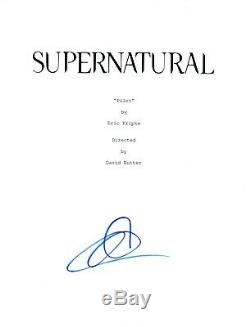 Adrianne Palicki Signed Autographed SUPERNATURAL Pilot Episode Script COA