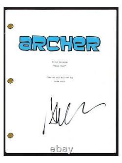 Aisha Tyler Signed Autographed ARCHER Pilot Episode Script COA