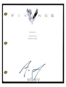 Alexander Ludwig Signed Autographed VIKINGS Pilot Episode Script Screenplay COA