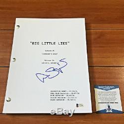 Alexander Skarsgard Signed Big Little Lies 60 Page Pilot Script Beckett Bas Coa