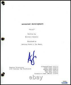 Alia Shawkat Arrested Development AUTOGRAPH Signed Full Pilot Script ACOA