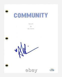 Alison Brie Signed Autographed COMMUNITY Pilot Episode Script ACOA COA