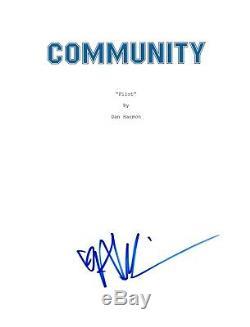 Alison Brie Signed Autographed COMMUNITY Pilot Episode Script COA