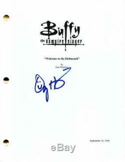 Alyson Hannigan Signed Autograph Buffy The Vampire Slayer Full Pilot Script