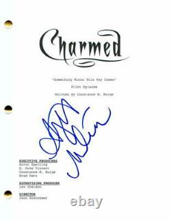 Alyssa Milano Signed Autograph Charmed Full Pilot Script Who's The Boss Star