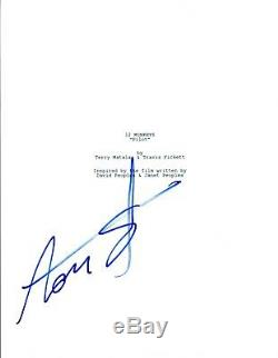 Amanda Schull Signed Autographed 12 MONKEYS Pilot Episode Script COA AB