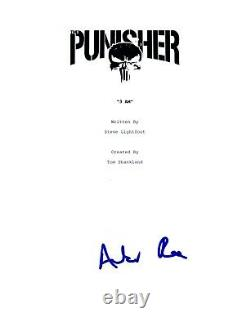 Amber Rose Revah Signed Autographed THE PUNISHER Pilot Episode Script COA