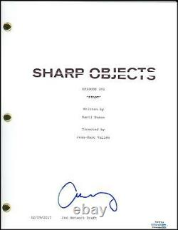 Amy Adams Sharp Objects AUTOGRAPH Signed Full Pilot Episode Script ACOA