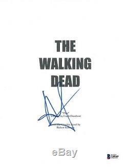 Andrew Lincoln Signed Autographed THE WALKING DEAD Pilot Script Beckett BAS COA