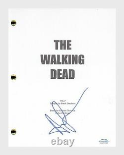 Andrew Lincoln Signed Autographed The Walking Dead Pilot Script Rick ACOA COA