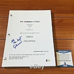 Ann Dowd Signed The Handmaid's Tale Full 57 Page Pilot Script Beckett Bas Coa