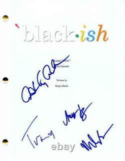 Anthony Anderson, Tracee Ellis Ross ++ Signed Autograph Black-ish Pilot Script