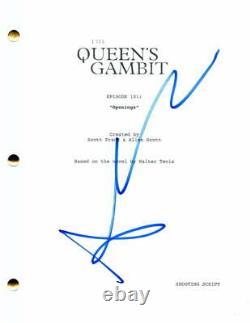 Anya Taylor-joy Signed Autograph The Queens Gambit Full Pilot Script Split Glass