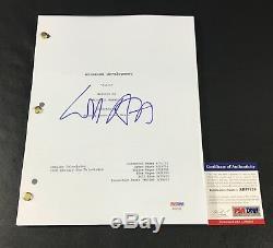 Arrested Development Will Arnett Signed Pilot Full Script Authentic Auto Psa Dna