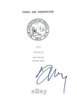 Aubrey Plaza Signed Autographed PARKS AND RECREATION Pilot Script Screenplay COA
