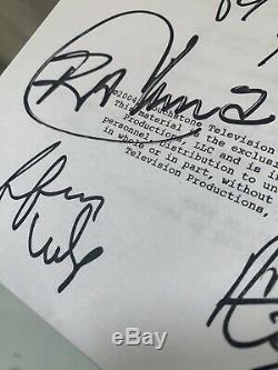 Autographed Desperate Housewives Pilot Script Live Signatures Not Copies