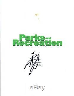 Aziz Ansari Signed Autographed PARKS AND RECREATION Pilot Episode Script COA VD