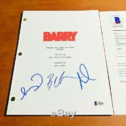 BARRY SIGNED PILOT SCRIPT BY 3 CAST MEMBERS BILL HADER with BECKETT BAS COA