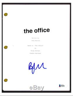 BJ Novak Signed Autographed THE OFFICE Pilot Episode Script Ryan Beckett BAS COA