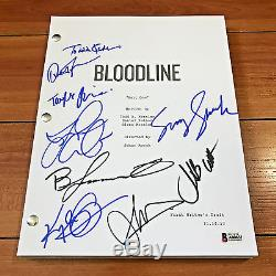BLOODLINE SIGNED FULL PILOT SCRIPT BY 9 CAST with PROOF & BECKETT BAS COA #A80852