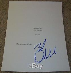 BOB ODENKIRK SIGNED BREAKING BAD 58 PAGE FULL PILOT SCRIPT withPROOF AUTOGRAPH