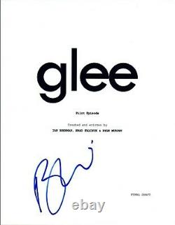 Becca Tobin Signed Autographed GLEE Pilot Episode Script COA VD