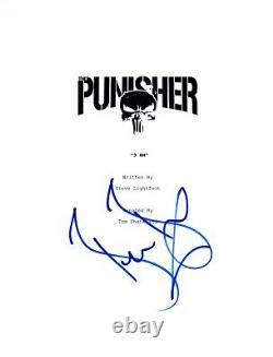 Ben Barnes Signed Autographed THE PUNISHER Pilot Script Jigsaw COA