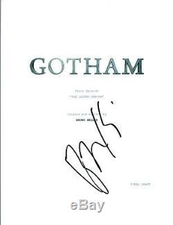 Ben McKenzie Signed Autographed GOTHAM Pilot Episode Script COA