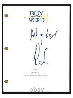 Ben Savage Signed Autographed BOY MEETS WORLD Pilot Episode Script COA