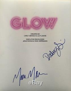 Betty Gilpin And Marc Maron Signed Glow Full Script Pilot Episode Netflix