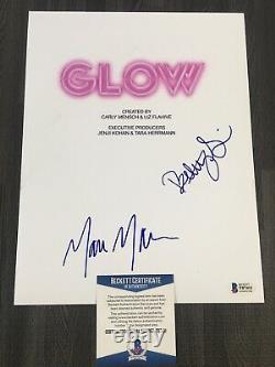 Betty Gilpin Marc Maron Signed Glow Full Script Pilot Episode Netflix BECKETT