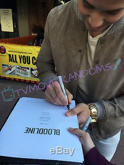 Bloodline Signed Full Pilot Script By 9 Cast Beckett Bas Coa Kyle Chandler
