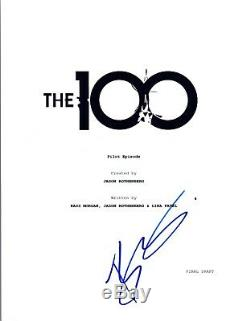 Bob Morley Signed Autographed THE 100 Pilot Episode Script COA VD