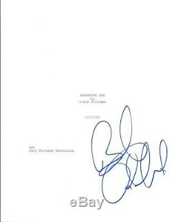 Bob Odenkirk Signed Autographed BREAKING BAD Pilot Episode Script COA
