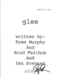 Bradley Buecker Signed Autograph GLEE Pilot Script Director Producer COA