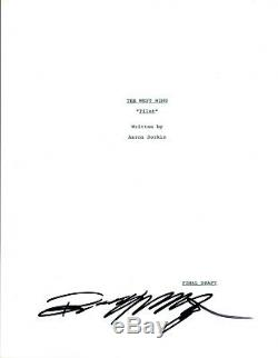 Bradley Whitford Signed Autographed THE WEST WING Pilot Episode Script COA