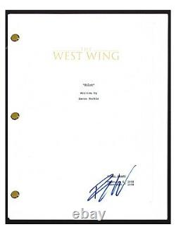 Bradley Whitford Signed Autographed THE WEST WING Pilot Script Screenplay COA