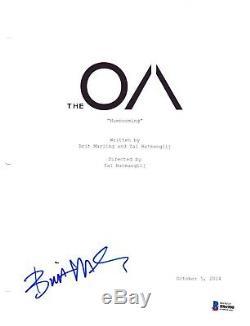 Brit Marling Signed The Oa Pilot Episode Script Beckett Bas Autograph Auto