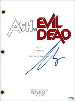 Bruce Campbell Ash vs. Evil Dead AUTOGRAPH Signed Pilot Episode Script ACOA