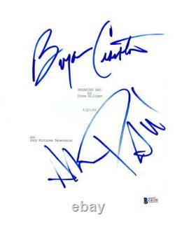 Bryan Cranston Aaron Paul Signed Breaking Bad Pilot Ep Script Autograph Beckett