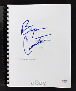 Bryan Cranston Authentic Signed Breaking Bad TV Pilot Script PSA/DNA #AC17070