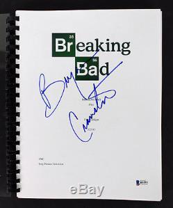 Bryan Crantson Authentic Signed Breaking Bad TV Pilot Script BAS #B51591