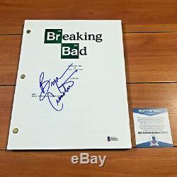 Bryan Craston Signed Breaking Bad Full Page Pilot Episode Script Beckett Bas Coa